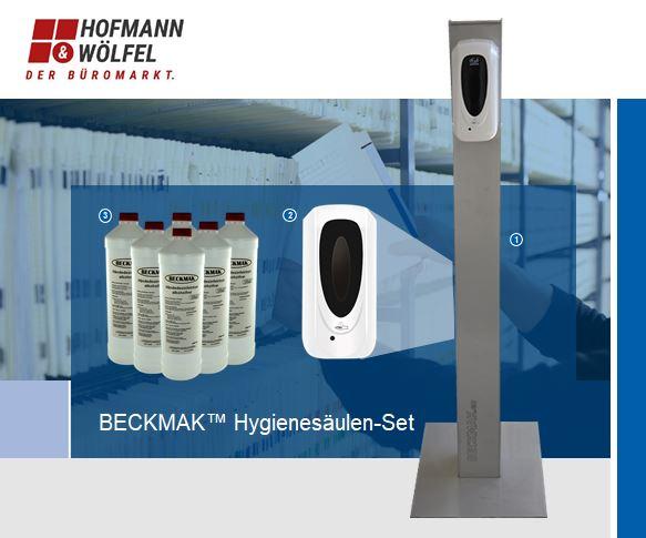 Hoffann und Woelfel Beck Hygienesäule